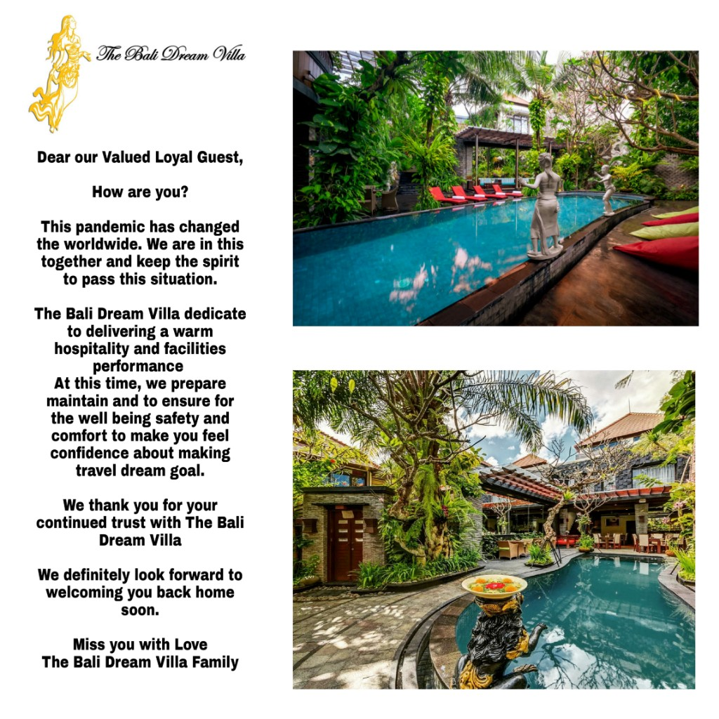 The Bali Dream Villa Seminyak Official Website Homepage